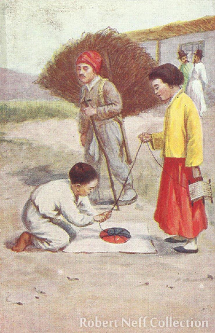 Korean kite, circa 1900-1920