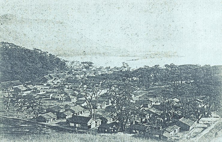 Fusan in 1886-87. Courtesy of Wayne Patterson.