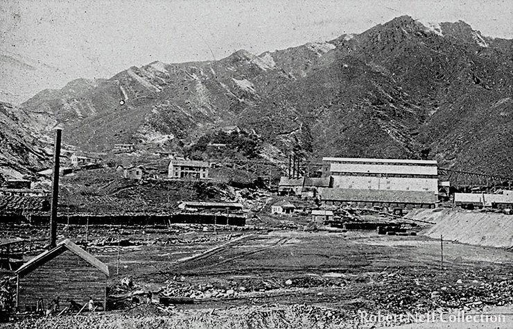 The OCMC's mill at Taracol, circa 1910.