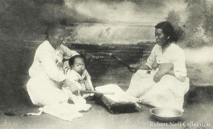 Korean men in their finest, circa 1903.