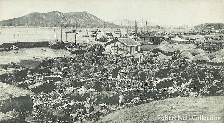 The American legation in Seoul, circa 1885.