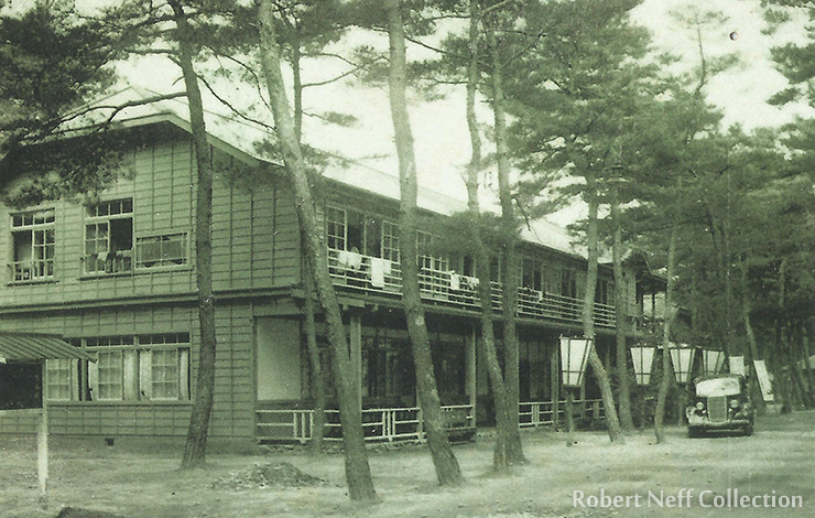 Vacation homes on Kalman Peninsula in the 1930s. Robert Neff Collection