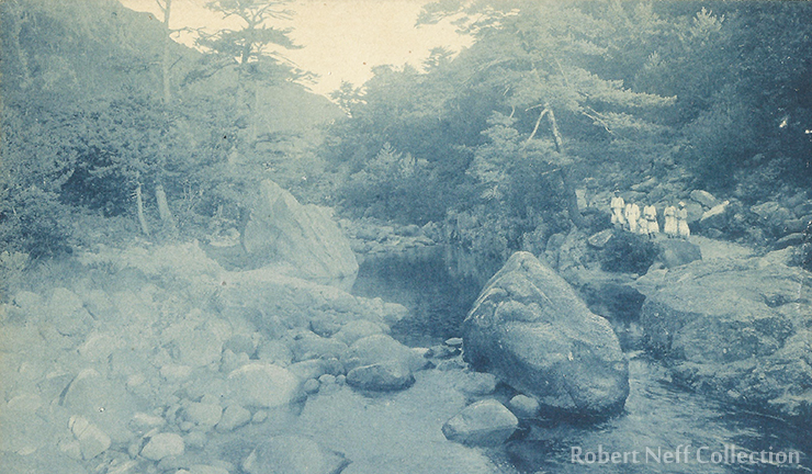 The mountains of Gangwon Province, circa 1920s.