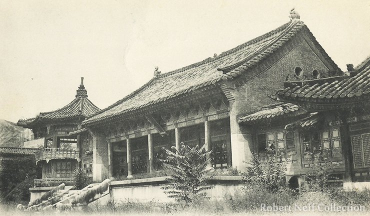 Views of Gyeongbok Palace, circa 1910-1920s.  Robert Neff Collection