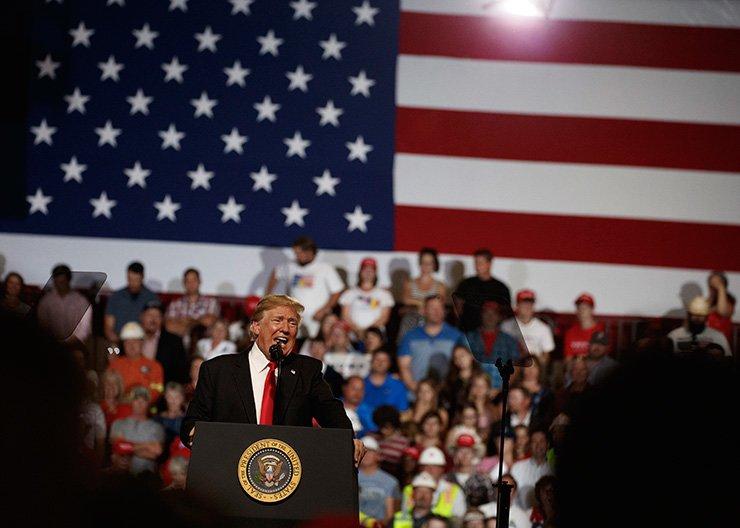 U.S. President Donald Trump / AP