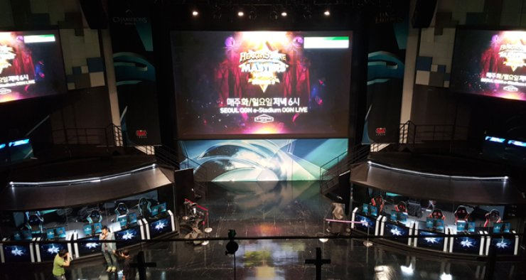 A view of the Seoul OGN e-Stadium  / Courtesy of OGN