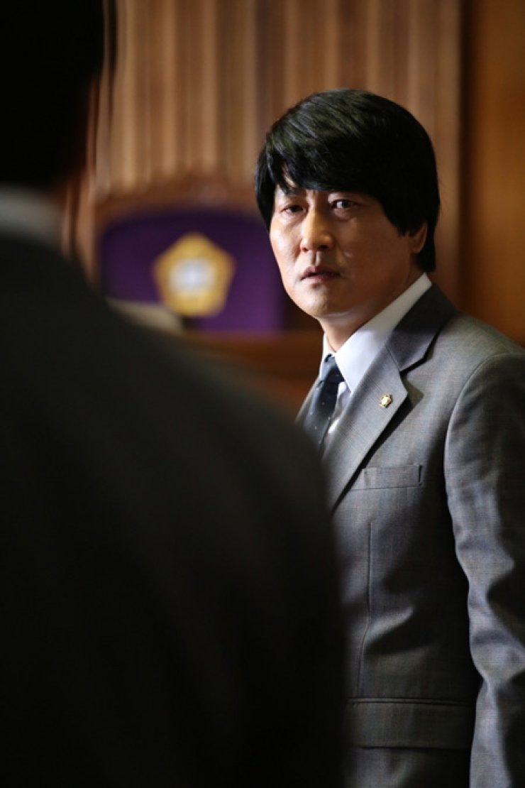 Song Kang-ho in a scene from 'The Attorney'