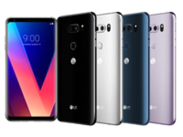 LG Electronics' V30 smartphone