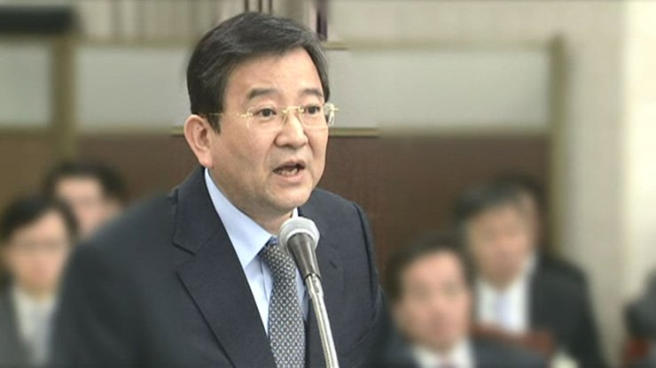 Former Vice Justice Minister Kim Hak-ui