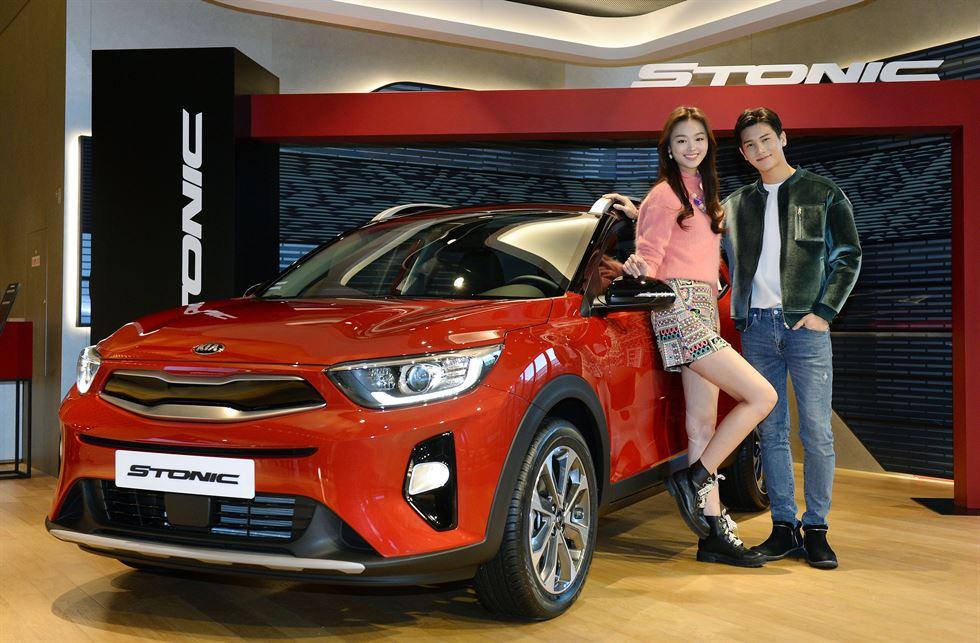 Kia motors introduces affordable stonic gasoline suv for Kia motors latest models