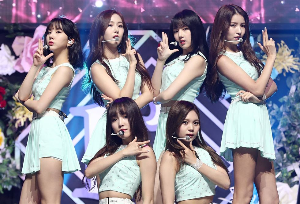 Life-size body pillows with pictures of GFRIEND members were released for sale by Source Music, but withdrawn days later after some fans claimed the goods reminded them of sex merchandise. / Courtesy of Tcafe
