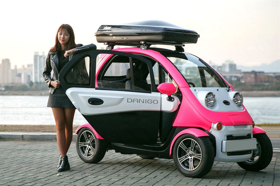 Корейские электромобили Daechang Motors