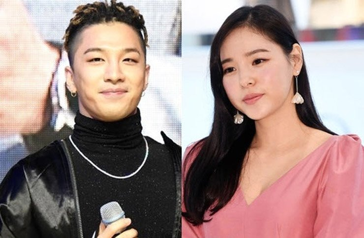 Taeyang and Min Hyo-rin / Korea Times file