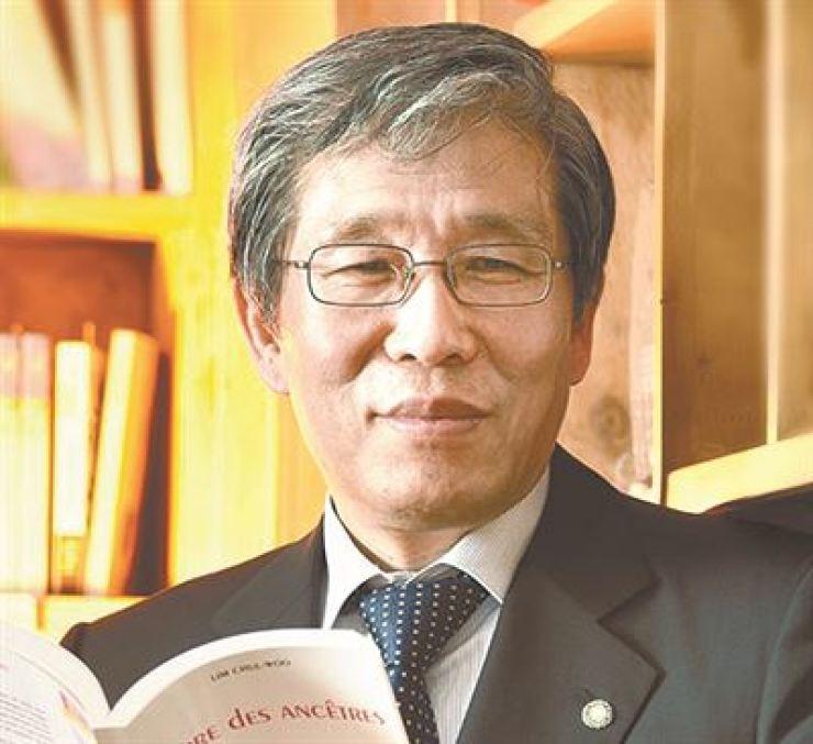 Kim Seong-kon, president of Literature Translation Institute of Korea / Korea Times