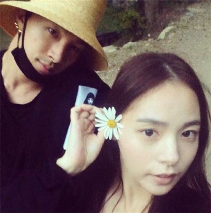 BIG BANG member Taeyang and his girlfriend of three years, actress Min hyo-rin, are scheduled to tie the knot next month. / Korea Times