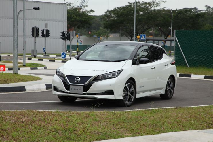 Nissan Leaf / Courtesy of Nissan