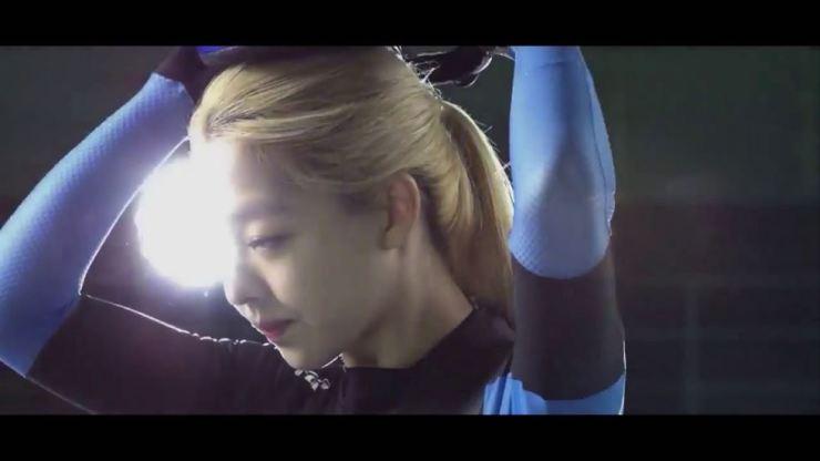Kim Bo-reum from NEPA TV commercial