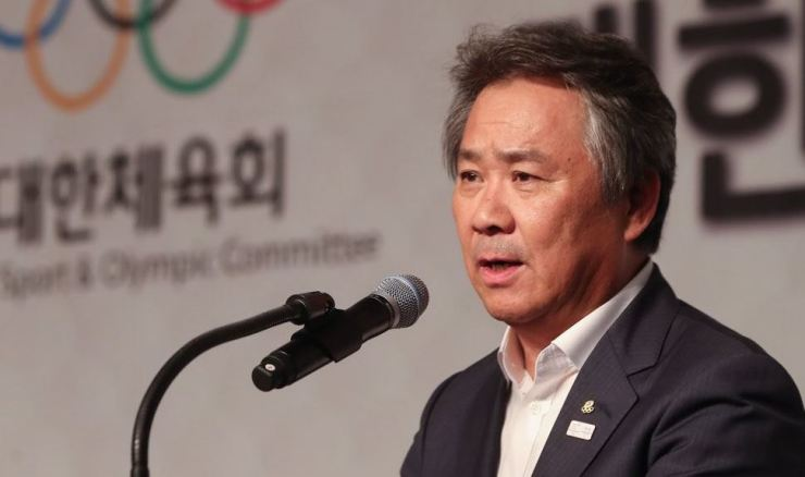 Korean Sport and Olympic Committee President Lee Kee-heung / Yonhap