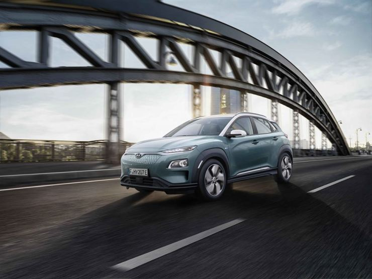 The new Hyundai Motor Kona Electric subcompact SUV / Courtesy of Hyundai Motor