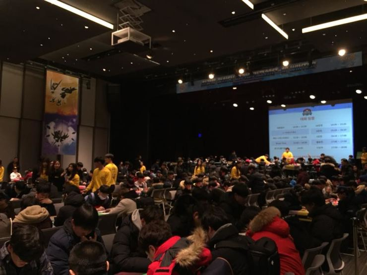 The Pokemon Korea League competition is underway in Pangtyo on the outskirt of Seoul, Sunday. / Courtesy of Fumiyasu Miura