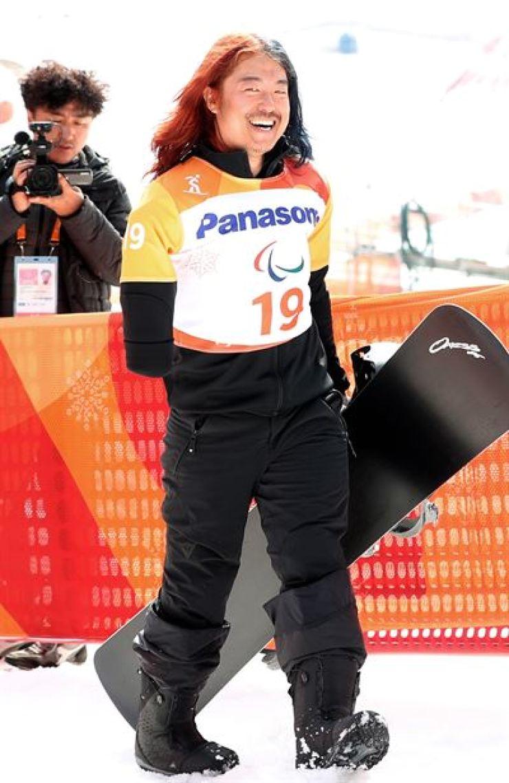 Alpine skier Park Hang-seung / Yonhap
