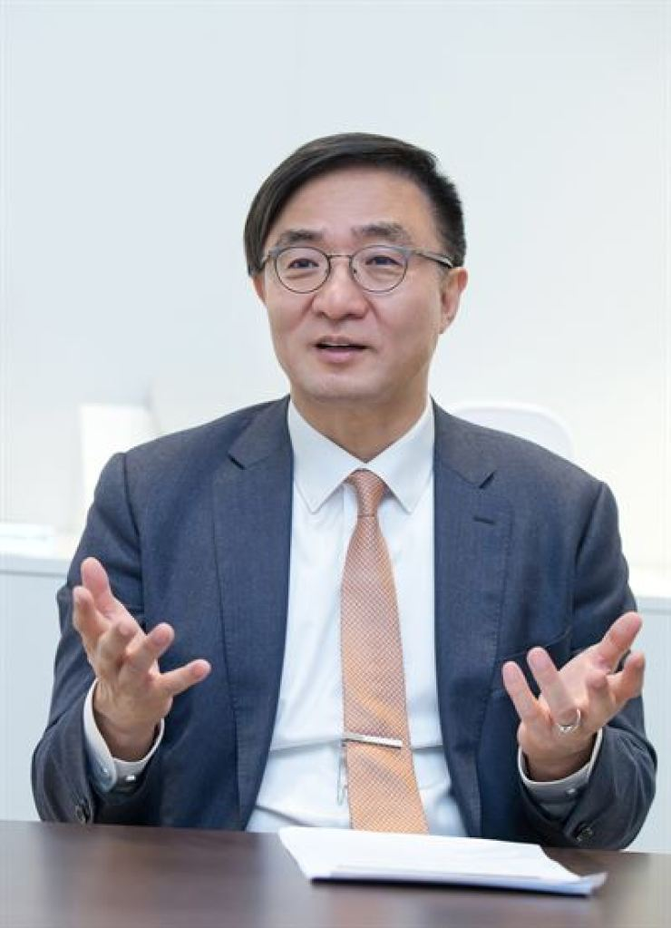Kim Young-ky, head of Samsung's network business / Courtesy of Samsung Electronics