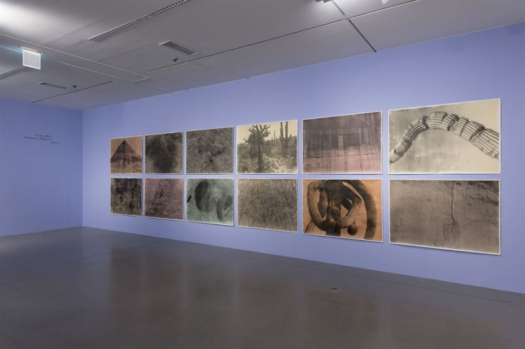 Installation view of Lee Jung-jin's 'American Desert II' series at the National Museum of Modern and Contemporary Art, Gwacheon / Courtesy of MMCA