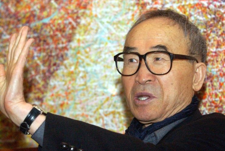 Ko Un, the world-renowned South Korean poet is under fire for allegations of sexual misconduct. Korea Times photo