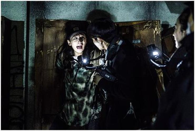 A Still from Korean horror film 'Gonjiam: Haunted Asylum' / Courtesy of Showbox
