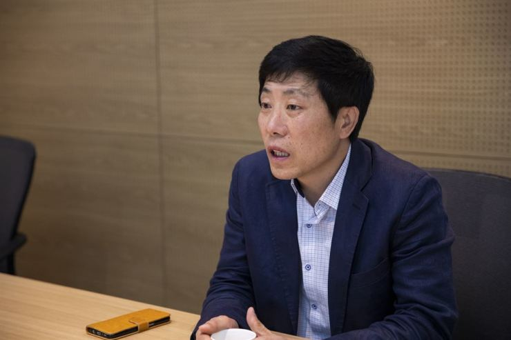 Park Sang-hak, North Korean defector who now heads the Fighters for Free North. / Korea Korea Times photo by Bae So-young
