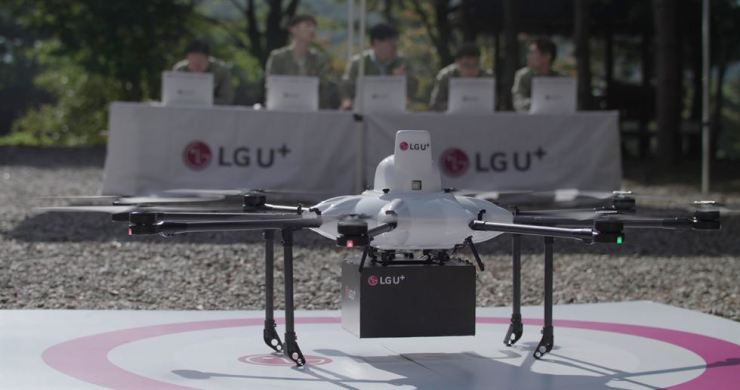 LG Uplus is set to test drones during a government-led project to verify their safety before commercialization. / Courtesy of LG Uplus