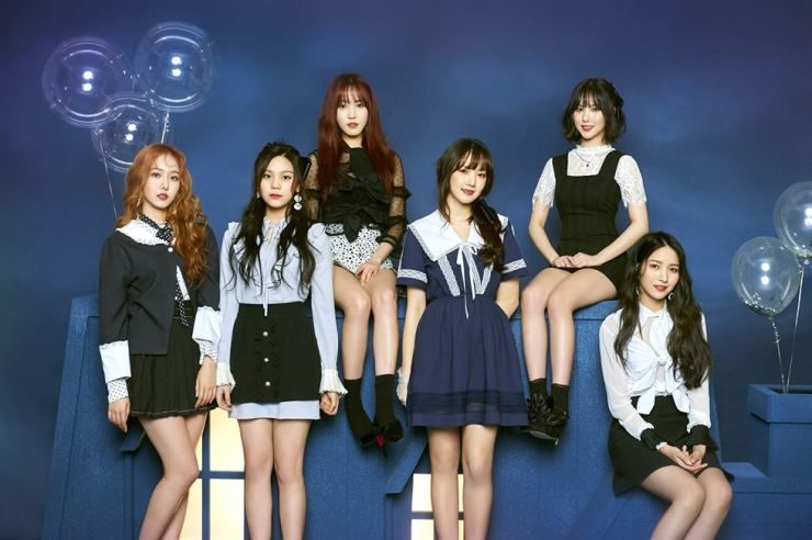 Six-member K-pop act GFriend has returned in seven months with its sixth mini album 'Time for the moon night.' / Courtesy of Source Music Entertainment