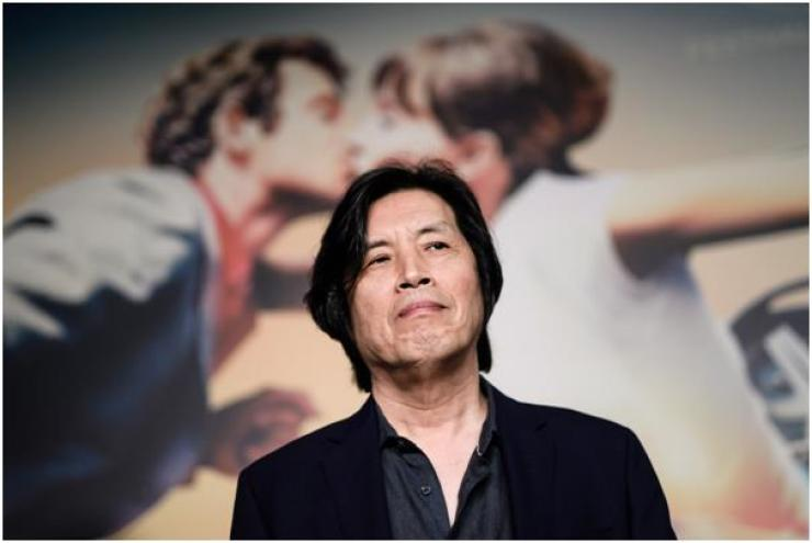 South Korean director Lee Chang-Dong attends the press conference for 'Burning' during the 71st annual Cannes Film Festival, in Cannes, France, 17 May 2018. The movie is presented in the Official Competition of the festival which runs from 08 to 19 May. / EPA-Yonhap