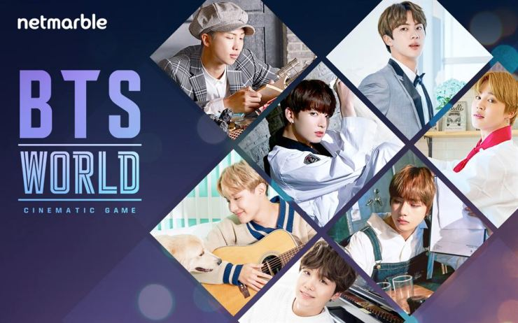 Netmarble Games' new game 'BTS World' is expected to be released within the year, with expectations that the boy band's global popularity will contribute to increasing sales in the global market. / Courtesy of Netmarble Games