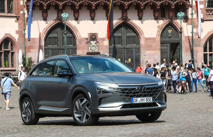 Hyundai Motor's NEXO fuel cell electric vehicle / Courtesy of Hyundai Motor