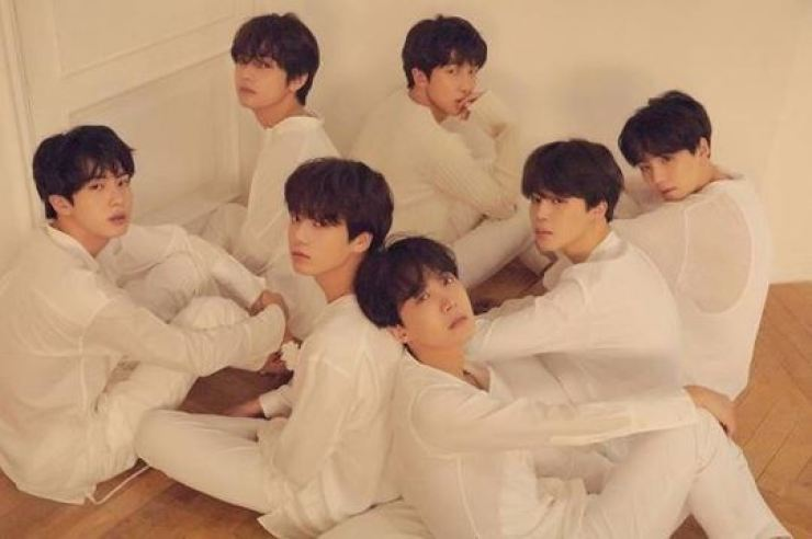 K-pop boy group BTS. Courtesy of Big Hit Entertainment