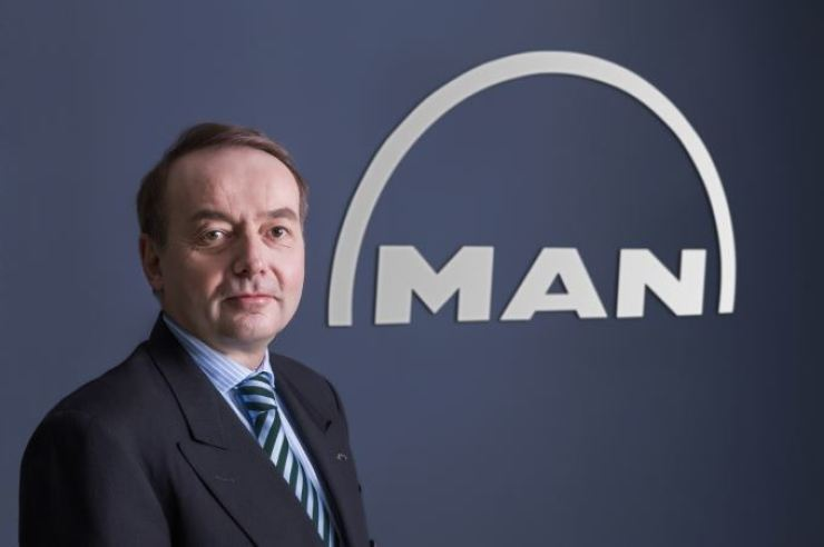 MAN Truck & Bus Korea CEO Max Burger