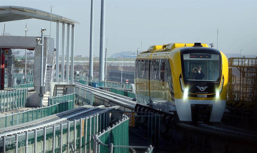 Autonome U-Bahn in Seoul.