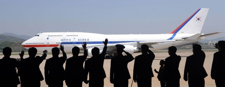 The Korean presidential jet / Korea Times file