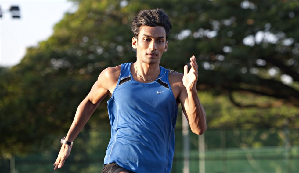 Singaporean Umaglia Kancanangai Shyam Dhuleep (known as UK Shyam) has held the Singaporean national record for the 100-metre sprint for the past 16 years.