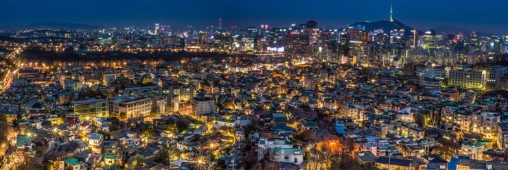 GRAND AWARD: 'View Over Seoul' by Iordan Daniel Teodorescu from the Romanian Embassy. Courtesy of CICI