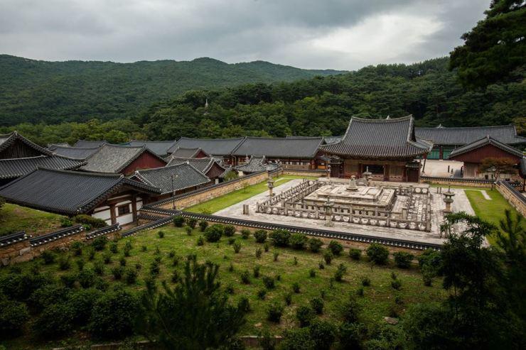 Tomgdo Temple on Mt. Yeongchuk in Yangsan, South Gyeongsang Province / Yonhap