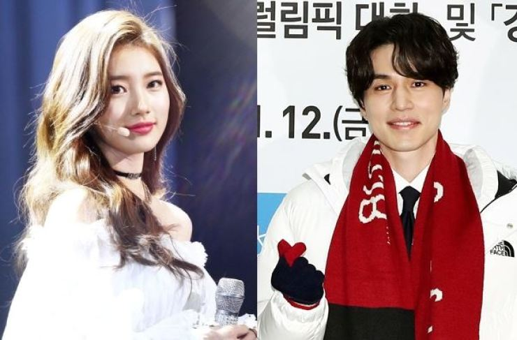 Suzy and Lee Dong-wook. Yonhap