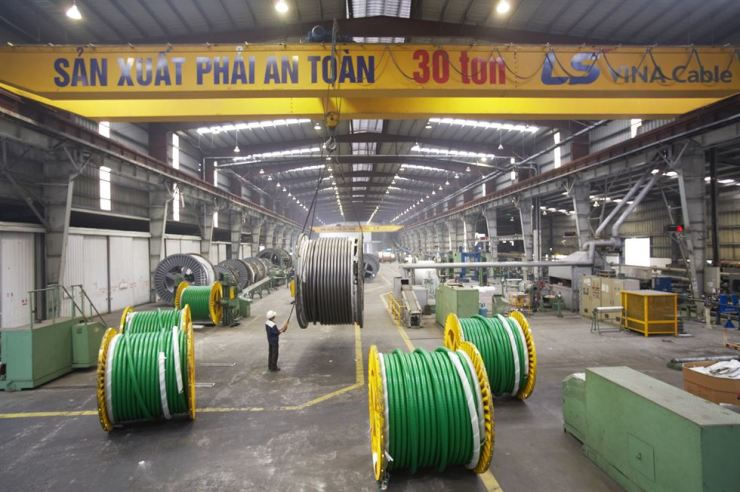 LS VINA is LS Cable & System's unit in Vietnam producing electrical cables. / Courtesy of LS Cable & System