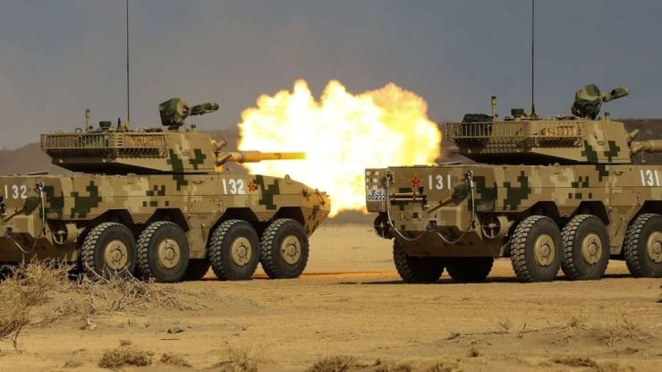 The ST1 8x8 wheeled tank destroyer is among the home-built armored vehicles China sells to Africa.