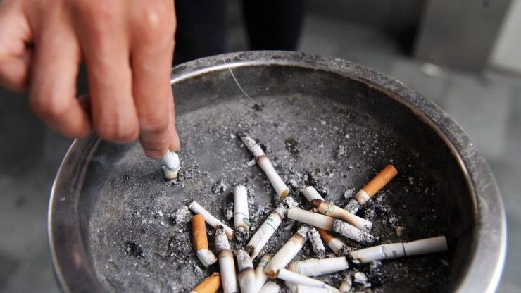 The pupils were forced to drink cigarette ash mixed with water. AFP