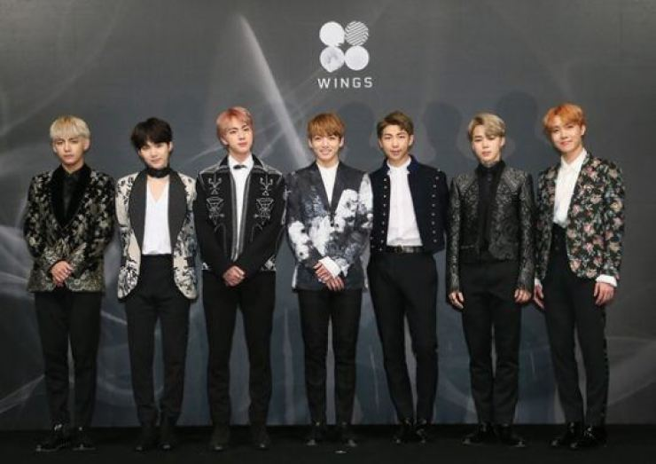 Global K-pop act BTS. Courtesy of Big Hit Entertainment