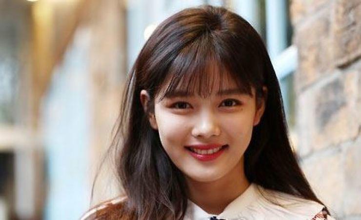 Actress Kim Yoo-jung. Yonhap