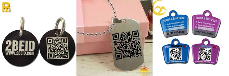 Under the new system, police officers can use a mobile phone app to scan a QR code attached to the dog's collar to get instant access to its registration details. Photo from South China Morning Post