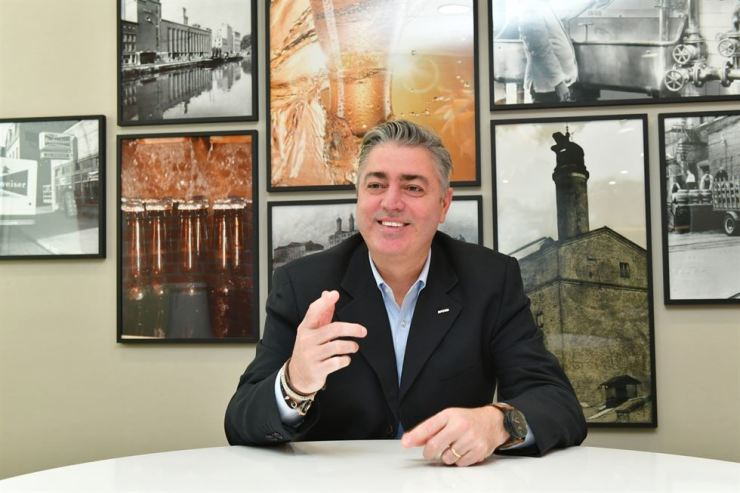 Oriental Brewery CEO Bruno Cosentino / Courtesy of Oriental Brewery